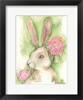 Framed Ruby the Rabbit