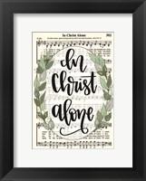 Framed In Christ Alone
