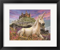 Framed Royal Unicorn