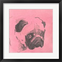 Framed Pop Modern Dog IV