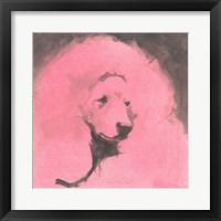 Framed Pop Modern Dog VI