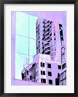 Framed Urban Pastels I
