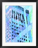 Framed Urban Pastels IV