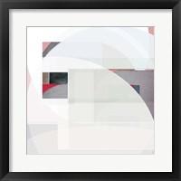 Framed Stripes and Circles I