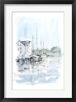 Framed New England Port I