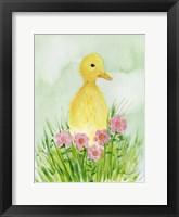 Framed Baby Spring Animals III