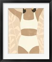 Framed Sunbathers I