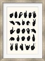 Framed Sign Language I
