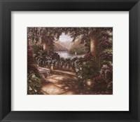 Villa Scaletta Framed Print
