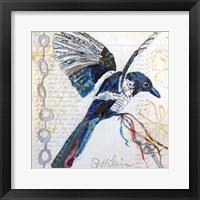 Happy Bird II Framed Print