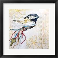 Happy Bird III Framed Print