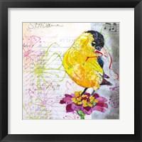 Happy Bird IV Framed Print