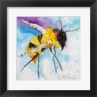 Framed Happy Bee I