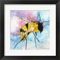 Framed Happy Bee II