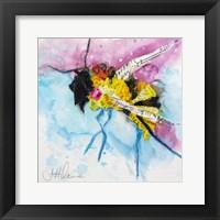 Framed Happy Bee III