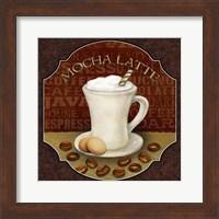 Framed Coffee Illustration I
