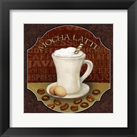 Coffee Illustration I Framed Print