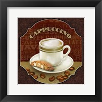 Coffee Illustration III Framed Print