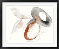 Framed Sienna Rounds I