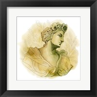 Framed Garden Goddess III