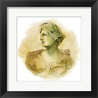 Framed Garden Goddess IV