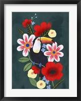 Framed Tropical Toucan I