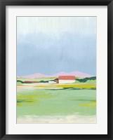 Framed Spring Fallow II