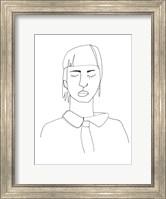 Framed Contour Face IV