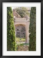 Framed Rome Landscape IV