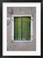 Framed Windows & Doors of Venice III