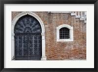 Framed Windows & Doors of Venice VIII