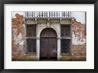 Framed Windows & Doors of Venice X