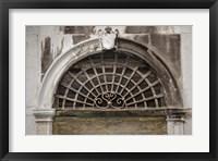 Framed Windows & Doors of Venice XI