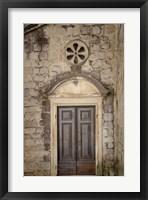 Framed Distinguished Entrance - Kotor, Montenegro