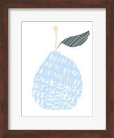 Framed Cut Paper Fruit IV