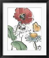 Framed Boho Florals II