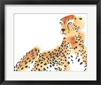Framed Majestic Cheetah I