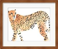 Framed Majestic Cheetah II