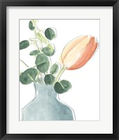 Framed Soft Posy Sketch II