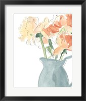 Framed Soft Posy Sketch III