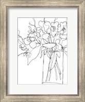 Framed Contour Bouquet II