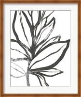 Framed Leaf Instinct I