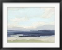 Framed Verdant Coast I