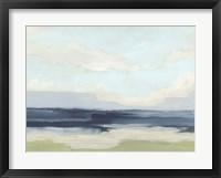 Framed Verdant Coast II