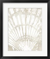 Framed Linen Tropical Silhouette II