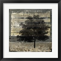 Framed Composition With Tree I