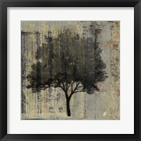 Framed Composition With Tree II