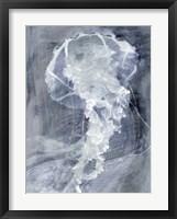 Framed Indigo Jellyfish I