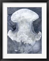 Framed Indigo Jellyfish II