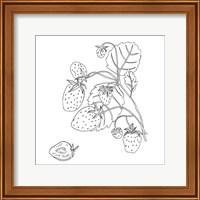 Framed Wild Strawberries I